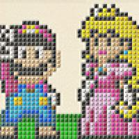 Sewing Mario: Craft great Mario images, with 6 templates